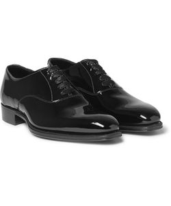 Kingsman | George Cleverley Patent-Leather Oxford Shoes