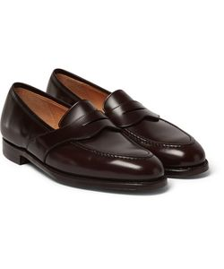 GEORGE CLEVERLEY | Bradley Leather Penny Loafers