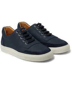 Harrys Of London | Mr. Jones 2 Leather-Panelled Suede Sneakers