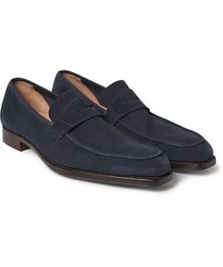 GEORGE CLEVERLEY | George Suede Penny Loafers