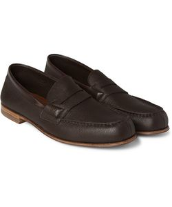 J.M. Weston | 281 Le Moc Grained-Leather Loafers