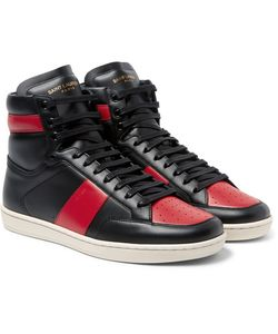 Saint Laurent | Sl10 Leather High-Top Sneakers