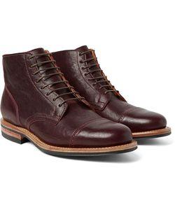 Viberg | Service Leather Brogue Boots