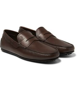 Tod'S | City Gommino Leather Loafers