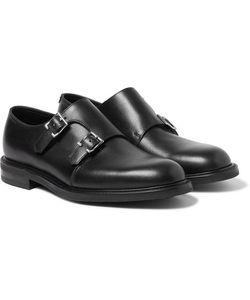 JOHN LOBB   Morval Full-Grain Leather Monk-Strap Shoes