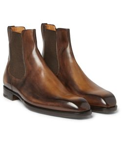 BERLUTI | Polished-Leather Chelsea Boots