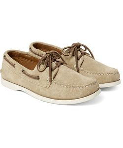 Quoddy | Downeast Suede Boat Shoes