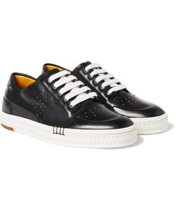 BERLUTI | Playtime Polished-Leather Sneakers