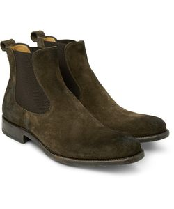 O'Keeffe | Bristol Burnished-Suede Chelsea Boots