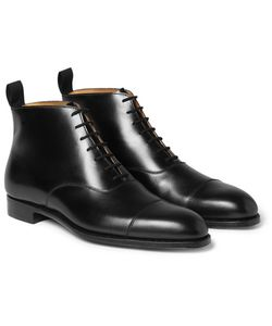 GEORGE CLEVERLEY | William Leather Ankle Boots