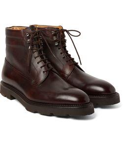 JOHN LOBB | Alder Pannelled Leather Boots