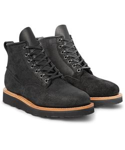 Viberg | Scout Oiled Roughout-Leather Boots
