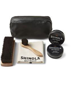 SHINOLA | Leather Care Travel Kit