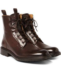 O'Keeffe | Polished-Leather Boots
