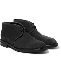 JOHN LOBB | Grove Suede Chukka Boots