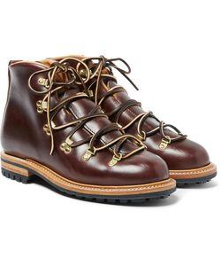 Viberg | Hiker Whole-Cut Leather Boots
