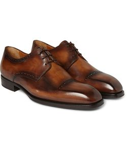 BERLUTI | Polished-Leather Derby Shoes