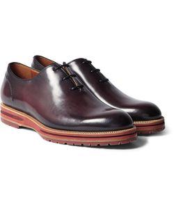 BERLUTI | Saint Emilion Polished-Leather Oxford Shoes