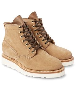 Viberg | Scout Roughout-Leather Boots
