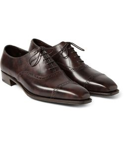 GEORGE CLEVERLEY | Anthony Leather Oxford Brogues