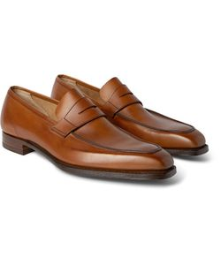 GEORGE CLEVERLEY | George Leather Penny Loafers