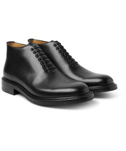 O'Keeffe | Scout Pebble-Grain Leather Boots