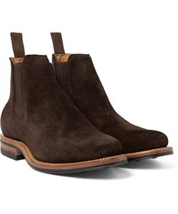 Viberg | Suede Chelsea Boots