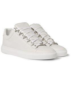 Balenciaga | Arena Creased-Leather Sneakers
