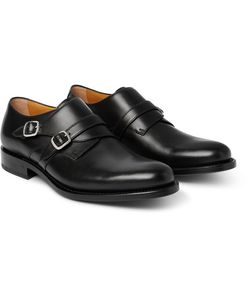 O'Keeffe | Bristol Leather Monk-Strap Shoes