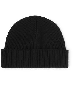 MARGARET HOWELL | Ribbed Wool And Cashmere-Blend Beanie