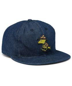 EBBETS FIELD FLANNELS | Appliquéd Denim Baseball Cap
