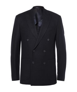 Hardy Amies | Slim-Fit Double-Breasted Cashmere Blazer