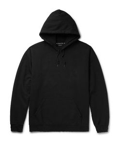 Sasquatchfabrix | Korouna Embroidered Fleece-Back Cotton-Blend Jerey Hoodie