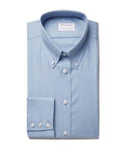 Kingsman   Turnbull Asser Slim-Fit Brushed-Cotton Shirt