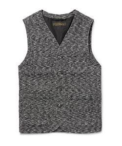 Freemans Sporting Club | Méange Textured-Cotton Waistcoat
