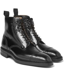 GEORGE CLEVERLEY | Bryan Leather Brogue Boots