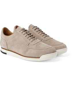 JOHN LOBB | Porth Suede Sneakers