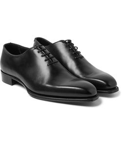 Kingsman   George Cleverley James Whole-Cut Leather Oxford Shoes