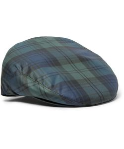 Lock & Co Hatters | Water-Repellent Checked Twill Flat Cap