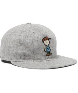 EBBETS FIELD FLANNELS | Appliquéd Wool-Flannel Baseball Cap
