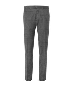 TODD SNYDER | Slim-Fit Prince Of Wales Checked Wool-Blend Trousers