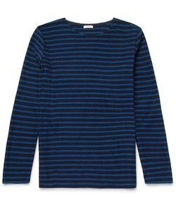 Eidos | Striped Cotton-Jersey T-Shirt
