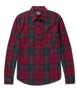 J.Crew | Plaid Cotton-Flannel Hirt