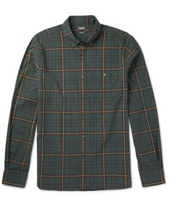 TODD SNYDER | Button-Down Collar Checked Cotton Hirt