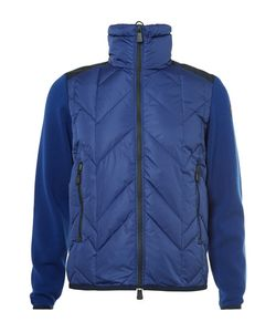 Moncler Grenoble | Virgin Wool And Quilted Hell Down Ki Jacket