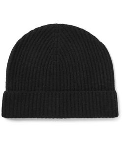 Lock & Co Hatters | Ribbed Cashmere Beanie