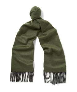 Begg & Co | Arran Two-Tone Cashmere Scarf