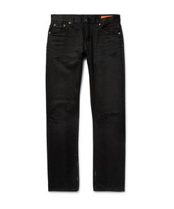 JEAN SHOP | Mick Slim-Fit Distressed Denim Jeans