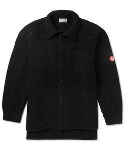 CAV EMPT | Wool-Blend Bouclé Overshirt