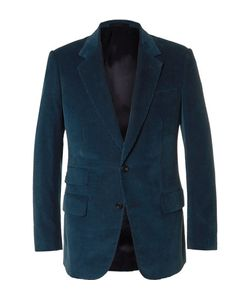 Kingsman | Slim-Fit Cotton And Cashmere-Blend Corduroy Blazer